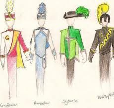 harry potter marching band... YES. Hee Hee  funny slytherin hats