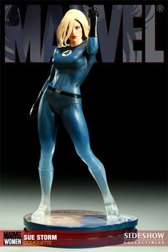 Sideshow Collectibles - Women of Marvel: Sue Storm Polystone Statue