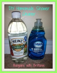 DIY Shower Cleaner   Pretty Good. Strong Smell So I Added Lemon Juice And It