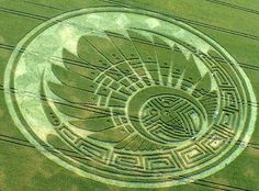 Mayan Motif Crop Circle at Silbury Hill, Wiltshire Reported on the 5th of June…