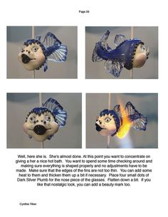 Star of the Sea Fish Sculptural Bead Tutorial by Cynthia Tilker