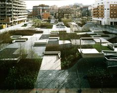 Plaza Del Desierto by Eduardo Arroyo /NO.MAD; Location: Barakaldo, Spain