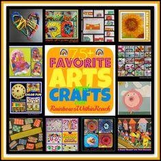 75+ Favorite Art Projects via RainbowsWithinReach
