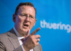 Thüringens Regierungschef: Ramelow will illegale Ausländer integrieren - SPIEGEL ONLINE - Politik