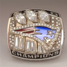 New England Patriots 4th Super Bowl Ring | New England Patriots ...