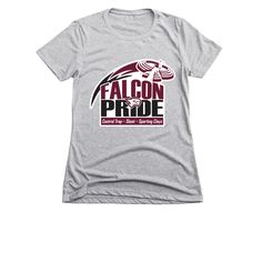 Support your favorite athlete and show your Falcon PrideWe are a competitive shooting club with approximately 88 members who range in age from years old. Shooting Club, Orange Logo, Spirit Wear, Sports Shirts, Wearing Black, Long Sleeve Tees, Pride, Pullover, How To Wear