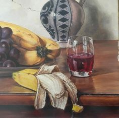 Oswald Eichinger (Born German Still Life With Fruit Oil / PanelThis painting was part of the Hancock Park estate. The only information I could find on Eichinger was that he was born in 1915 in G. Still Life Fruit, Selling Antiques, Be Still, German, Oil, Painting, Art, Deutsch, German Language