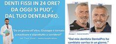 Denti Fissi in 24 ore? Da oggi si può! Dal tuo dentista DentalPro www.dentalpro.it