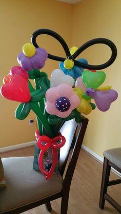 Flower arrangements by Cookie
