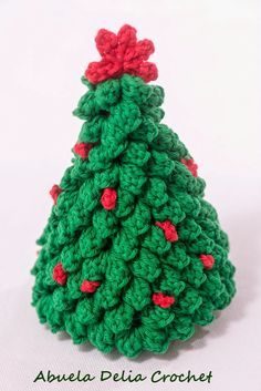 Arbolito de Navidad en Crochet