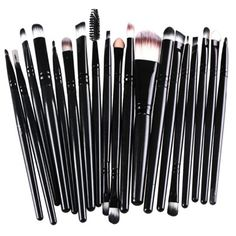 8.44$  Buy now - http://dicpd.justgood.pw/go.php?t=182923001 - Practical 20 Pcs Multifunction Plastic Handle Nylon Makeup Brushes Set