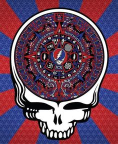 Steal Your Face right off your head Grateful Dead Shows, Grateful Dead Image, Grateful Dead Poster, Dead Pictures, Dead Pics, Dead Images, Dead And Company, Forever Grateful, Psychedelic Art