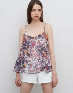 FLORAL PRINT COMBINED JUMPSUIT - NEW PRODUCTS - NEW PRODUCTS - PULL&BEAR Thailand