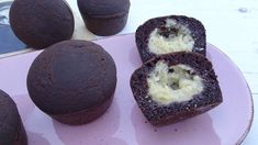 Kakaós-túrós muffin 6db Muffin, Cheesecake, Breakfast, Desserts, Food, Morning Coffee, Tailgate Desserts, Deserts, Cheese Cakes