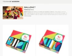 Ballonet Socks Sale at TouchOfModern.com is stili on  Sale ends in few days!  #touchofmodern #sale #BallonetSocks #socks #fashion #ballonet #socksoftheday #sockswag #menstyle #style #ソックス #giftbox #gift
