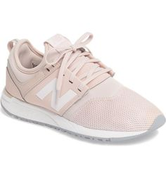 new balance pale pink 247 classic trainers