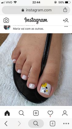 Please visit our website for Cute Toe Nails, Cute Acrylic Nails, Dope Nails, Pedicure Nail Art, Toe Nail Art, Cute Pedicure Designs, Nail Designs, Pretty Toes, Pretty Nails