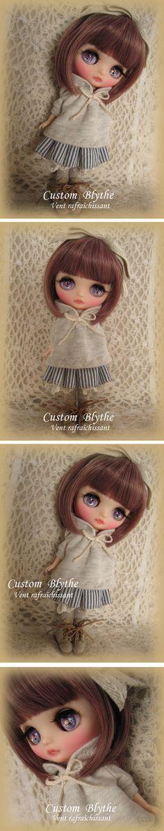 Custom Bryce ★ Custom Middie Blythe ★ Vent rafraichissant Admin - Auction -! Rinkya Japan Auction & Shopping