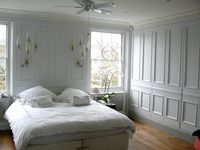 Image result for same colour wardrobes as walls fleurdeforce