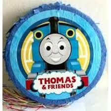 thomas the train round pinata - Google Search