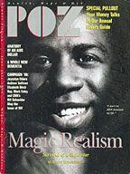 POZ Magazine June/July 1996 featuring Magic Johnson