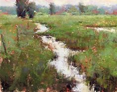 August Calm by Jacob Aguiar Pastel ~ 11 x 14