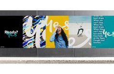 Creative Branding / Stationery / Logo images on Designspiration Web Design, Logo Design, Graphic Design, Signage Design, Design Styles, Hoarding Design, Trade Show Design, Event Branding, City Branding