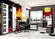 комната для подростка красный: 9 тыс изображений найдено в Яндекс.Картинках