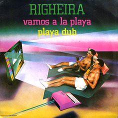 Righeira- Vamos A La Playa (Vinyl,12'') 1983 Italo Disco, Michael Johnson, Nostalgia, Back To The 80's, Cinema, Pub, Fade Out, Music Videos, Movie Posters