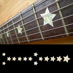 Fretboard Markers Inlay Sticker Decals for Guitar  Bass  Everly Brothers Star  WP ** Want additional info? Click on the image.