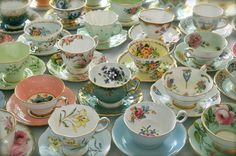 teatimewithemma: (via Tea Cups from Vancouver... / Tea, Coffee, and Books