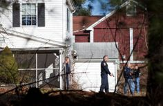 The police searched houses near the elementary school. Newtown Shooting, Ny Times, Elementary Schools, Police, Houses, House Styles, Outdoor Decor, Homes, Primary School