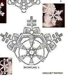 - Her Crochet Crochet Snowflake Pattern, Crochet Stars, Crochet Motifs, Crochet Blocks, Crochet Snowflakes, Crochet Diagram, Thread Crochet, Crochet Doilies, Crochet Flowers