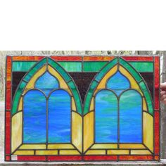 Materials Unlimited - G14015 - Antique Ecclesiastical Stained Glass Window, $485.00 (http://www.materialsunlimited.com/g14015-antique-ecclesiastical-stained-glass-window/)