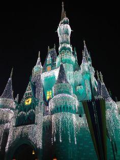 Ok, so I know it's not Elsa's ice palace, but it IS Disney & it looks frozen.