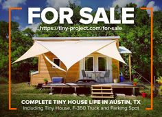 Tiny Project Tiny House For Sale!