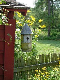 Placing Birdhouses in the Garden