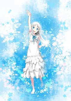 Menma/Honma Meiko AnoHana/Ano Hi Mita Hana no Namae o Bokutachi wa Mada Shiranai The Flower We Saw That Day