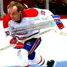 "The blonde demon Guy ""Flower"" Lafleur Hockey Games, Hockey Players, Ice Hockey, Montreal Canadiens, Nhl, Left, Baseball Cards, Guys, Flower"