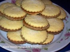 Hungarian Recipes, Small Cake, Pavlova, Ham, Muffins, Bakery, Goodies, Food And Drink, Snacks