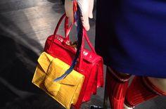 Milan Fashion Week SS14: Prada Spring Runway Bag Collection