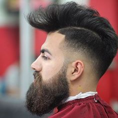 Fade, Barba em Fade, Barba em Degradê, Macho Moda - Blog de Moda Masculina: Tipos de Barba que estão em alta pra 2016, dicas