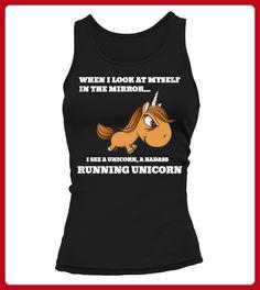 RUN UNICORN - Läufer shirts (*Partner-Link)