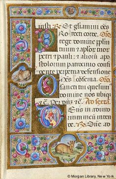 Book of Hours, MS M.187 fol. 44v - Images from Medieval and Renaissance Manuscripts - The Morgan Library & Museum
