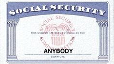 Social security card ssc blank color social security and cruises an irs investigation has discovered that illegal immigrants stole one million social security numbers from american pronofoot35fo Image collections