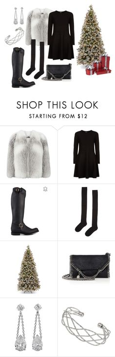 """""""Untitled #181"""" by amandakarrlsson on Polyvore featuring Harrods, DKNY, Primeboots, Accessorize, STELLA McCARTNEY and Wallis"""