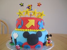 My daughters 3rd Birthday Cake