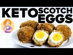 Keto Scotch Eggs Recipe (Binging With Babish style) Low Carb Paleo Scotch Eggs Baked - 17 Days Paleo Menu Paleo Recipes Easy, Egg Recipes, Low Carb Recipes, Bariatric Recipes, Pork Recipes, Homemade Scotch Eggs, Most Nutrient Dense Foods, Keto Recipe Book, Appetizers