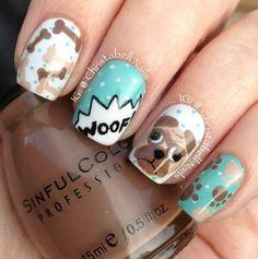 Doggy Nail Art