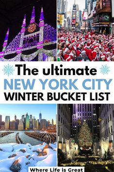 holiday trip Who doesn't dream of seeing New York City on Christmas? Here is what you need to do on your winter trip to New York City to fully experience its magic New York Christmas, Christmas Travel, Christmas Markets, Christmas Events, Holiday Travel, New York Travel Guide, New York City Travel, New York City Shopping, New York Winter